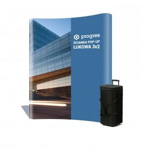 Ścianka Pop-Up 3x2 w kufrze + wydruk