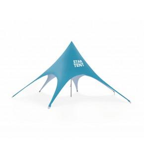 Sześcioramienny namiot Star z wydrukiem