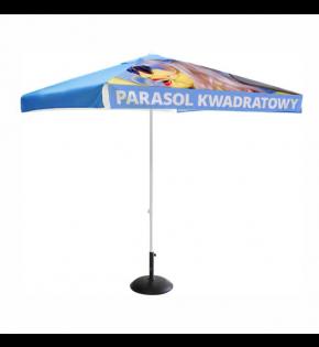 Parasol Kwadratowy z wydrukiem