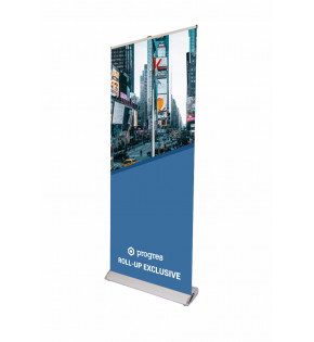 Roll-Up Exclusive 85 x 200 cm z wydrukiem
