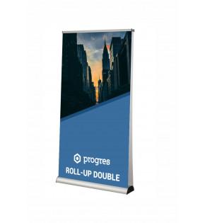 Roll-Up Dwustronny 100 x 200 cm z wydrukiem