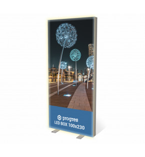 Kaseton LED BOX 100 x 230 cm z wydrukiem dwustronnym