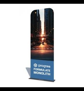 Stand Tekstylny Monolith 80 x 238 cm z wydrukiem