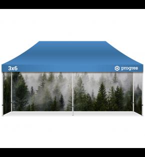 Namiot reklamowy 3x6 z indywidualną grafiką