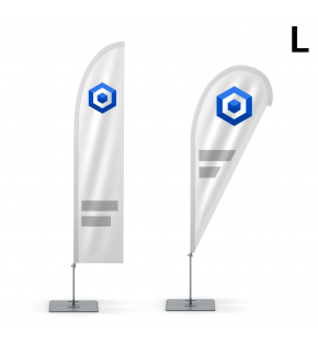 Flaga reklamowa Winder 410 cm