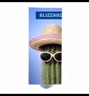 Stand Banerowy Blizzard 80 x 210 cm z wydrukiem